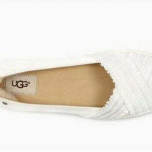 58652fcd1aa NEW UGG YNEZ Espadrille Flats 8.5 White Boutique